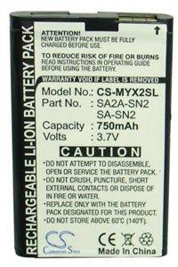 Sagem myX3-2 battery (750 mAh)
