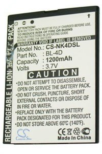 Nokia N97 Mini battery (950 mAh)