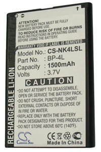 Nokia E63 battery (1500 mAh)