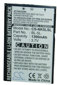 Nokia 9500 battery (1300 mAh)