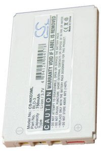 Nokia 6610i battery (750 mAh)
