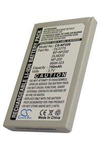 Minolta DiMAGE Xt Biz battery (750 mAh, Dark Gray)