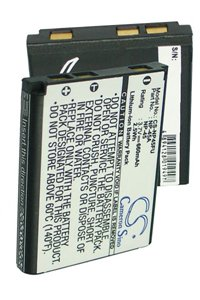 FujiFilm FinePix JV250 battery (660 mAh, Black)