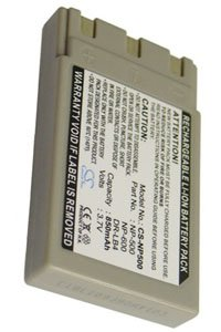 Minolta DiMAGE G400 battery (850 mAh, Dark Gray)