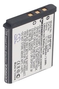 FujiFilm FinePix F600EXR battery (800 mAh, Black)
