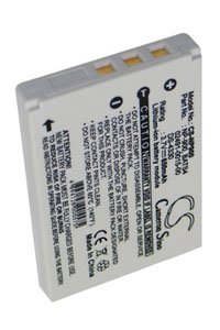 BenQ DC E720 battery (600 mAh, Black)