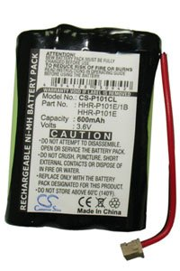 Panasonic KX-TCA10CE battery (600 mAh)