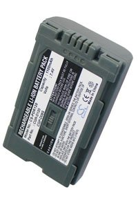 Panasonic NV-MX7DEN battery (1100 mAh, Dark Gray)