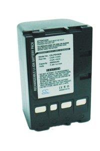 Panasonic NV-VZ1 battery (4000 mAh, Dark Gray)
