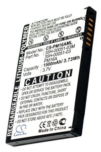 O2 XDA Mini Limited Edition battery (1500 mAh)