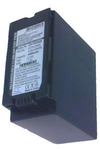 Panasonic NV-MX7/5/1 battery (5400 mAh, Dark Gray)