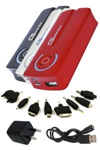 External battery pack (5600 mAh) for Apple iPhone 4S (64GB) (multiple colors available)
