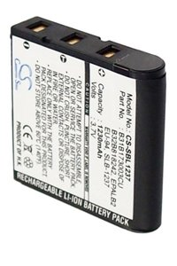 Samsung Digimax L85 battery (1230 mAh, Black)