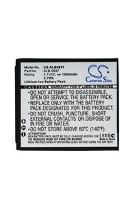 Samsung Digimax i8 battery (1000 mAh, Black)