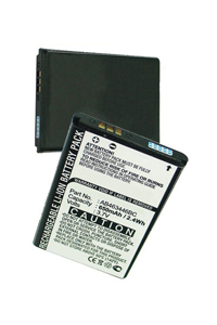 Samsung GT-E2530 battery (650 mAh)