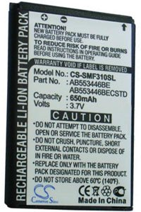 Samsung SGH-I320 battery (650 mAh)