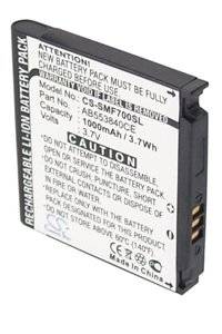 Samsung SGH-F700 battery (1000 mAh)