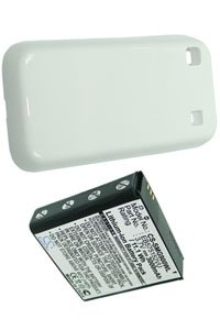 Samsung GT-i9000 Galaxy S battery (3000 mAh, White)