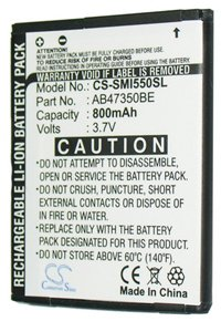Samsung SGH-I550w battery (800 mAh)