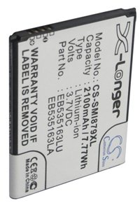 Samsung SGH-E270 battery (2100 mAh, Black)