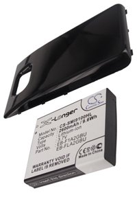 Samsung GT-i9100 Galaxy S II battery (2600 mAh, Black)