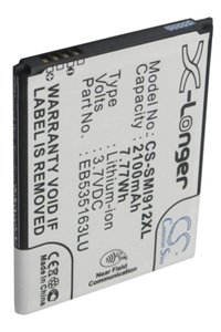 Samsung SGH-E270K battery (2100 mAh, Black, NFC)