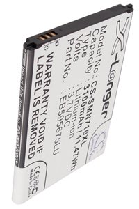 Samsung SCH-I605 Galaxy Note II battery (3100 mAh, Black)