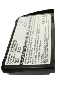 Samsung NP-Q1U-Y04 battery (6600 mAh, Black)