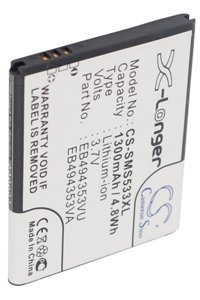 Samsung GT-S5570 Tass battery (1300 mAh, Black)