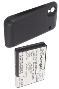 Samsung GT-S5830 Galaxy Ace battery (2400 mAh, Black)