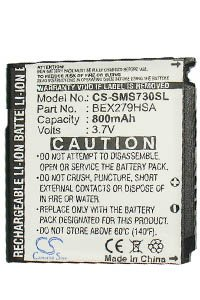 Samsung SGH-S730 battery (800 mAh)