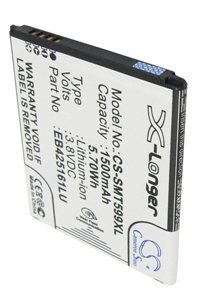 Samsung GT-I8160P Galaxy Ace 2 battery (1500 mAh, Black, NFC)
