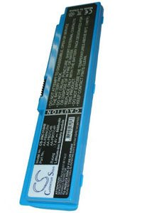 Samsung NP-X120-JA01BE battery (6600 mAh, Blue)