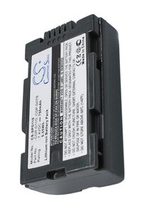 Panasonic NV-MX300EG battery (750 mAh, Dark Gray)