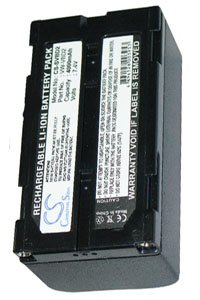 Hitachi VM-H855LA battery (4000 mAh, Dark Gray)