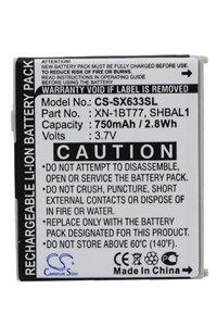 Sharp V-770SH battery (750 mAh)