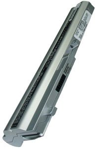 Toshiba NB100-128 battery (6600 mAh, Silver)