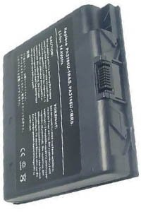 Toshiba Satellite 1900-101 battery (6600 mAh, Dark Gray)