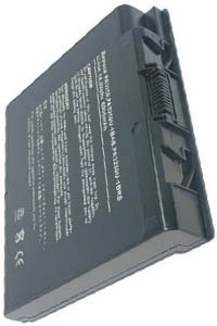 Toshiba Satellite 2430-402 battery (6600 mAh, Black)