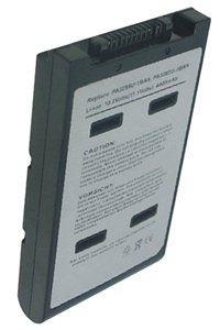 Toshiba Qosmio E10-2KLDEW battery (4400 mAh, Black)
