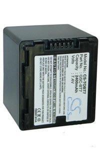 Toshiba Gigashot GSC-A40F battery (2400 mAh, Black)