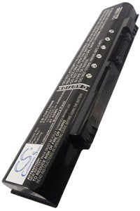 Toshiba Qosmio F60-BD532T battery (4400 mAh, Black)