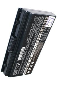 Toshiba Satellite Pro L40-187 battery (4400 mAh, Black)