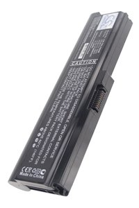Toshiba Satellite L735-157 battery (6600 mAh, Black)