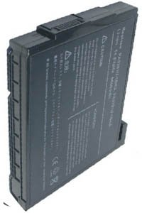 Toshiba Satellite P20-S404 battery (6600 mAh, Black)