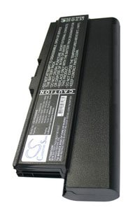 Toshiba Portégé M800-101 battery (8800 mAh, Black)