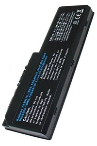 Toshiba Satellite P200D-107 battery (6600 mAh, Black)