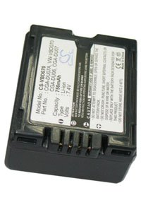 Panasonic NV-GS37EG-S battery (750 mAh, Dark Gray)