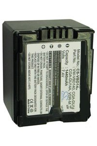 Panasonic NV-GS37EG-S battery (1440 mAh, Dark Gray)