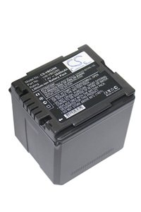 Panasonic HDC-DX1-S battery (2640 mAh, Black)